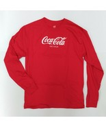 "Coca-Cola ""Ice Cold"" Long Sleeve T-Shirt - BRAND NEW - $17.50"