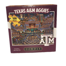 New Dowdle 100 Piece Puzzle Texas A&M Aggies 16in x 20in - $9.36