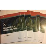 Alpha Omega Lifepac Grade 8 History & Geography Student Books 5 6 7 8 9 ... - $38.60