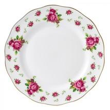 Royal Albert New Country Roses White Vintage Dinner Plate NEW (s) - $37.39