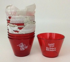 5cf5b476f323a Captain Morgan Captain and Cola Set of 10 New Red Plastic Cups Rummy Mum.