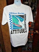 Attitude is Everything Offshore Racing Hanes Beefy-T shirt Medium size - $24.50