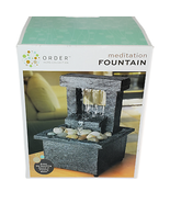 Order Home Collection Cordless Meditation Fountain Tabletop Soothing - $14.98