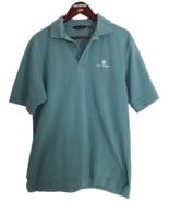 Sope Creek Men's Medium Green Polo Shirt 100% Cotton - $18.81