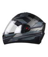 Steelbird-SBA-1-AIR R2K-FULL-FACE- BLACK GREY  HELMET-for Safety Comfort... - $77.14