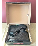 "Brahma Enduropro ""Raid"" Mens Steel Toe Boots Size 9 Great Condition Hard... - $32.95"