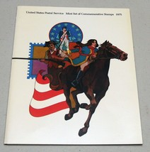 USA Stamps Postage 1975 Year Collection Souvenir Folder Mint NH - $8.10
