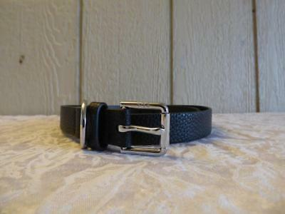 "$38.00 Ralph Lauren Classics 1"" Dress Casual Roller Buckle & D-Ring, M, Black"