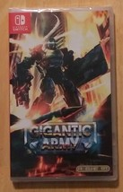 Gigantic Army, Nintendo Switch Video Game, Retro Style Shooter/Shmup NEW - $49.95