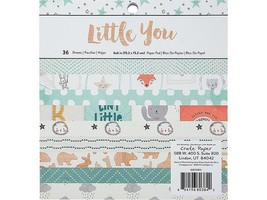 """Crate Paper-Little You-36 Sheets 6""""x 6"""" Paper Pad."""