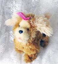 "2012 Hasbro Fur Real Yorkie Interactive Plush Dog 7"" Tall 8"" Long #A2616... - $10.50"