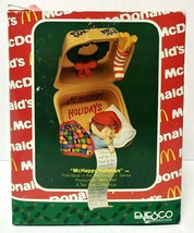 Enesco McDonald's McHappy Holidays Christmas Ornament - $30.00