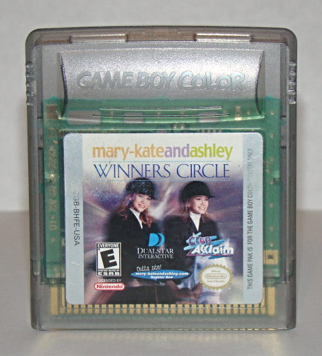 Primary image for Nintendo GAME BOY COLOR - mary-kate and ashley WINNERS CIRCLE (Game Only)