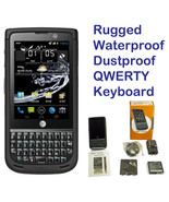 NEC Terrain 8GB Black AT&T Rugged Waterproof Android Smartphone QWERTY K... - $77.95