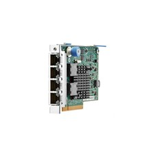 HP Ethernet 1GB 4-Ports 366FLR Adapter PCI Express 4x RJ45 669280-001 - $125.49