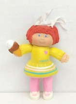 """Cabbage Patch Kid 4"""" Figure Girl with Ice Cream Cone 1984 A.A. Inc Used - $13.00"""