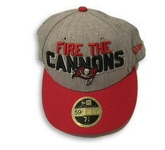 NWT New Tampa Bay Buccaneers New Era 59Fifty Low Profile Draft Size 7 1/... - $27.67