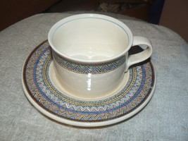 Mikasa cup and saucer (Exotica) 12 available - $5.00
