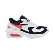 Nike Air Max2 Light Jaguars Women's Shoes White-Red Orbit-Black CJ7980-101 - $110.60
