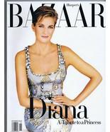 ORIGINAL Vintage 1997 Bazaar Magazine Princess Diana Commemorative Edition - $37.18