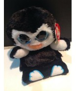 Penguin Peek A Boo Penni TY Cell Phone Holder Plush - $10.89