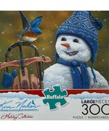 Buffalo games kim norlein snow brother kingsize 300 piece complete puzzle - $11.40