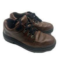 Timberland Mens Size 8.5 M Brown Leather Moc Toe Shoes Casual 69067  - $18.69