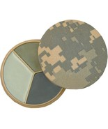 ACU Digital Camouflage 3 Color Camouflage Face Paint Compact With Mirror - $8.99