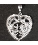New Solid Anti tarnished 925 Sterling Silver Zodiac Double Dragon Pendan... - $64.50