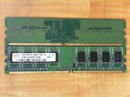 HYNIX MEM DIMM 1GB PC2-5300 CL5 PB-FREE - $14.80
