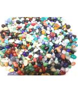 4oz Mini Glass Pebbles Crafts Aquarium Fairy Moon Stones Jewels Gem Vase... - $5.89