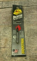 Vermont American Deckster Power Screwdriving Bit #2 Phillips (16055) Dec... - $5.99