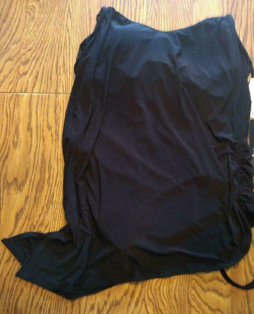 MagicSuit Black Under Wire One Piece Swimwear Size 14DD
