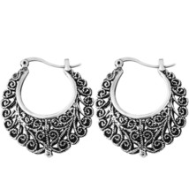 2016 New Sale Fashion Trendy Drop Earrings Retro Bohemia Flower Hollow S... - $20.00