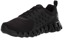 Reebok Men's Zig Pulse 3.0 Running Shoe, Black/Cold Grey, 8 M US - $68.59