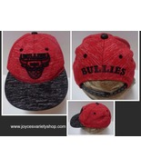 Bullies Snapback Hat NWOT Supply Headwear Free Shipping Red & Black - $11.99