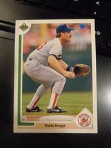 1991 Upper Deck #546 Wade Boggs Boston Red Sox Baseball Card ~ NM - $1.55
