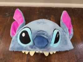 Disney Parks Stitch Plush Hat Adjustable Adult Size - $16.44