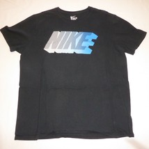 The Nike Tee Athletic Cut Black Crew Neck XL T-Shirt - $11.10