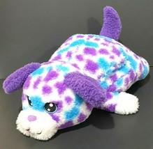 "Russ Hug A Pet Puppy Dog Plush 22"" Purple Muff Spotted Toy Valentine Vin... - $32.73"