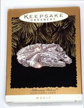 Christmas Ornament Hallmark Star Wars Millennium Falcon Keepsake Magic - $29.69