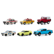 Tokyo Torque Series 7, Set of 6 pieces 1/64 Diecast Model Cars by Greenl... - $47.63