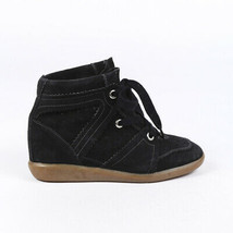 Isabel Marant Suede Wedge Sneakers SZ 38 - $135.00