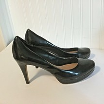 "Vince Camuto Womens Sz 9 B Shoes 3.75"" Heels Pumps Patent Leather - $27.67"
