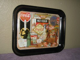 Vintage Coca-Cola 1886 Through The Years Metal Tray by Sandra  Porter - ... - $9.46