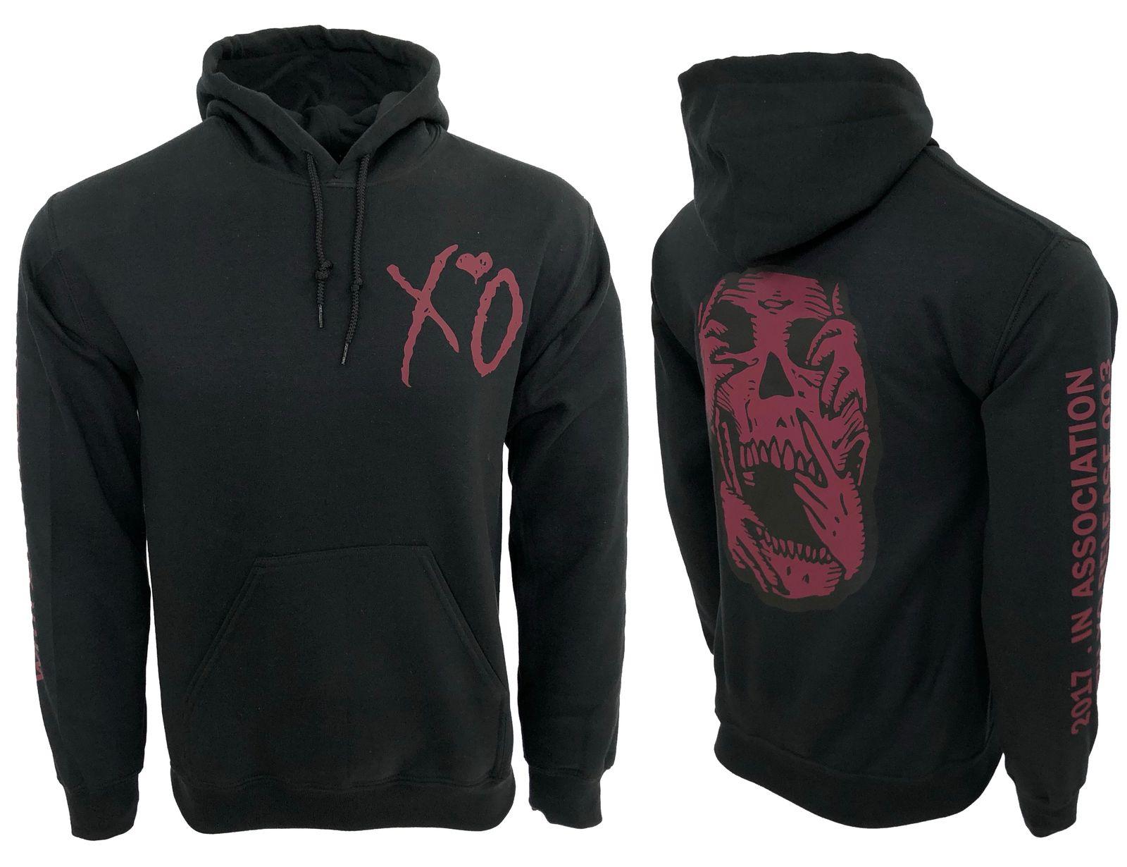 XO The Weeknd Saturnal Skull Hoodie - $29.99