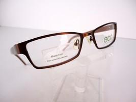 Earth Conscious Optics (ECO) Mod 1002 (BWN) Brown 51 x 17   Eyeglass Frame - $19.75