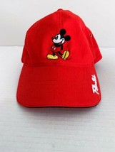 Disney Mickey Mouse Florida Red Adjustable Hat - $17.41