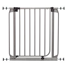Dreambaby Dawson Auto-Close Security Gate w/Stay Open Feature, Silver (28-32in)