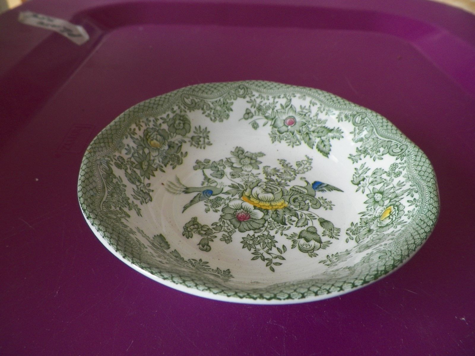 Enoch Wedgwood Kent Green fruit bowl 1 available